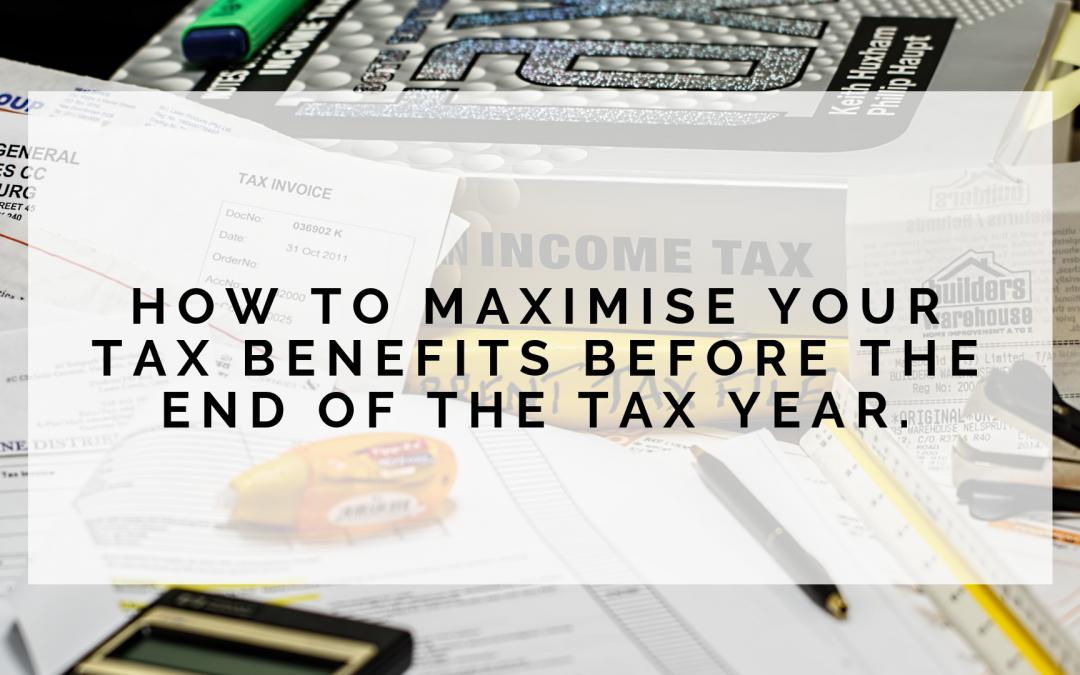Maximising Your Tax Benefits