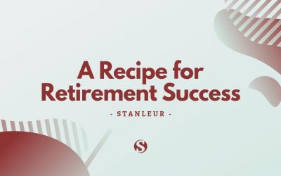 A recipe for retirement success.